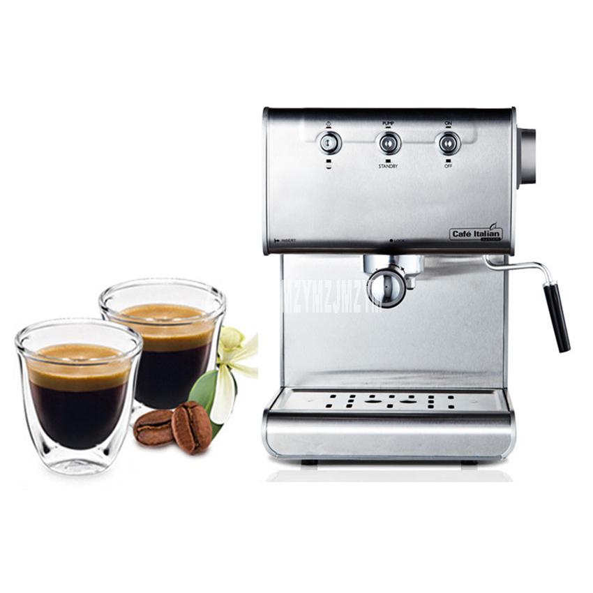 Export Original Italian Italian semi automatic coffee machine steam to fight the bubble home business coffee machine 220V / 850W