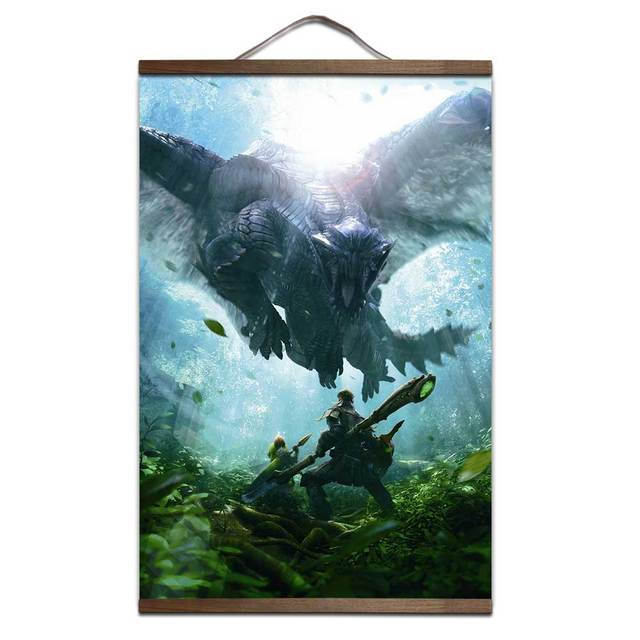 Monster Hunter Canvas Posters (2018)