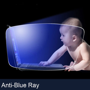 Image 5 - Gafas ópticas graduadas con protección de rayos azul, lentes para gafas Rx, 1 par, montura gratis con montura para gafas, 1,61