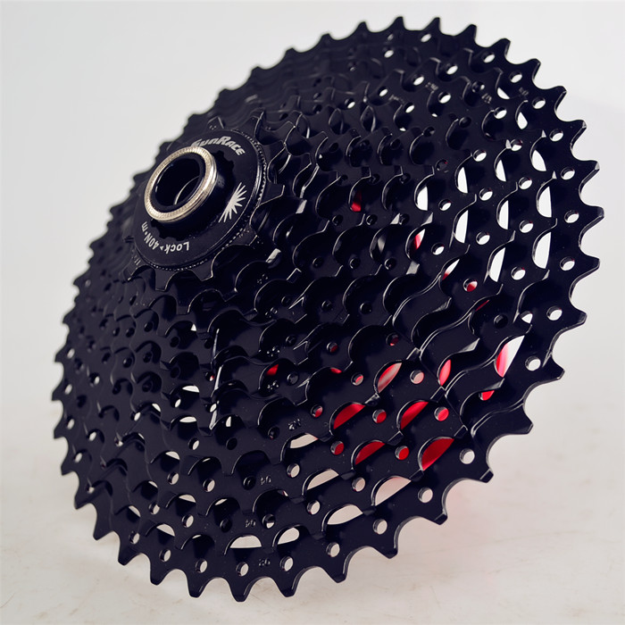 New Arrival SunRace CSMS3 CSMX3 11-40t 11-42T 10 Speed 10s Wide Ratio mtb Mountain bike freewheel Cassette bicycle flywheel адаптер питания zoom ad 14e