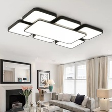 Ultra Thin 5cm Ceiling LED Lights Lighting Fixture Modern Lamp Living Room Bedroom Kitchen Surface Mount Remote Control