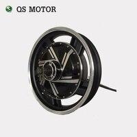 Мощный мотор QS 17*3 5 дюйма 2000 Вт-8000 Вт 273 бесщеточный Электрический скутер  мотор-хаб мотоцикла