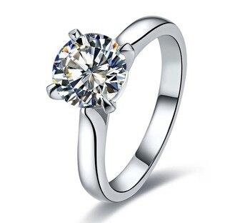 Women Engagement Ring Jewelry Diamond Jewelry