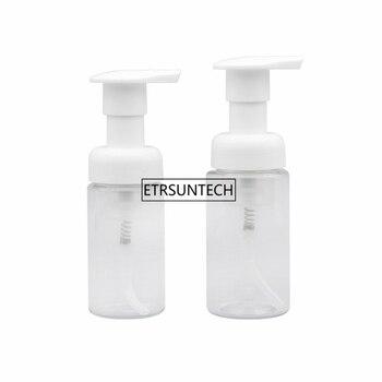 100pcs 30/40ml Empty Foam Spray Bottle Transparent Plastic Liquid Foaming Soap Pump White Cream Mousse Bottles Containers F2945