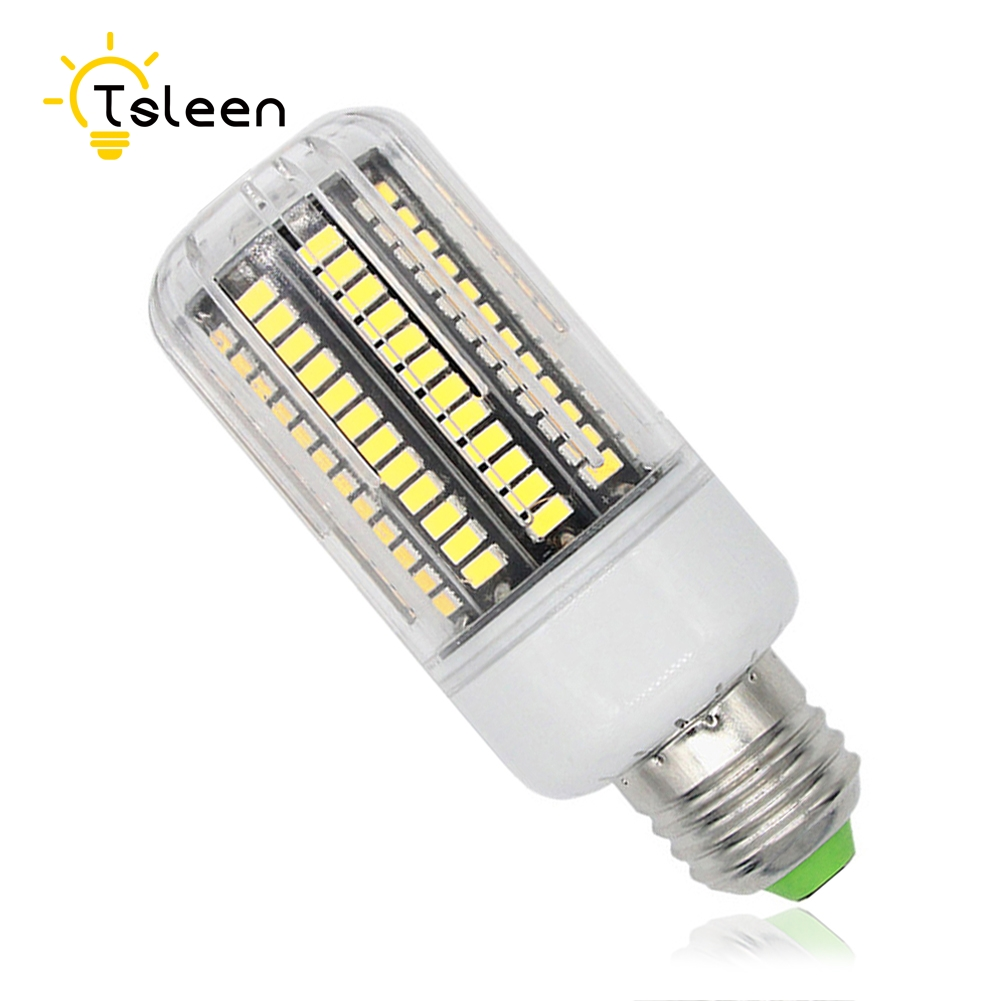 Cheap 110v 220v Lampe Smd5733 E27 Led Lamp E14 B22 G9 Gu10 Led Corn Milky Transparent E27 Led