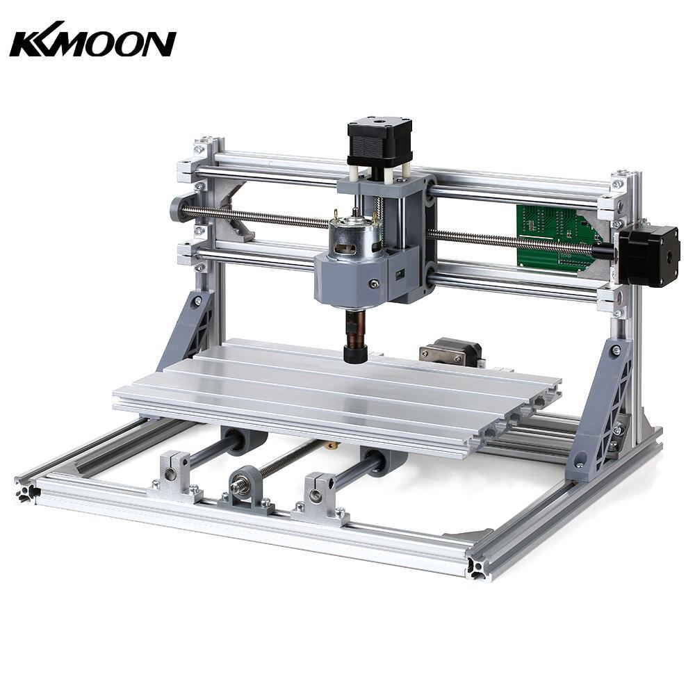 CNC 3018 bricolage CNC routeur Kit 2-en-1 Mini Laser gravure Machine GRBL contrôle 3 axes pour PCB PVC plastique acrylique sculpture sur bois outil