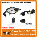 Ignition Coil + CDI UNIT + Rectifier Regulator + Solenoid Relay Fit 110cc 125cc 140cc PIT PRO Bike Dirt Bike Quad ATV Buggy