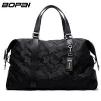 BOPAI Brand Luggage Bag Large Capacity Men Travel Bags Weekend Travel Duffle Bag Tote Crossbody Travel