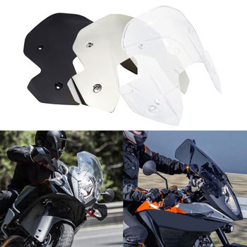 Windshield Windscreen For KTM 1050 Adventure 15-16 1090 Adventure /R 17-18 1290 1190 Adventure/R 13-16 Super Adventure /R /S фото