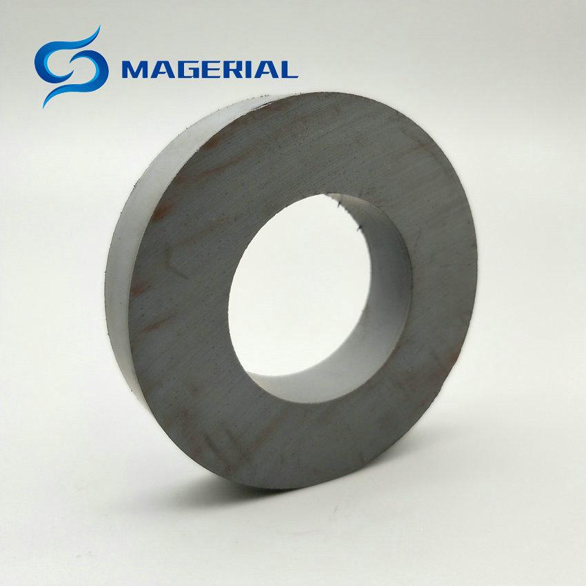 2-12pcs Ferrite Magnet Ring OD60xID32x10 mm 2.4