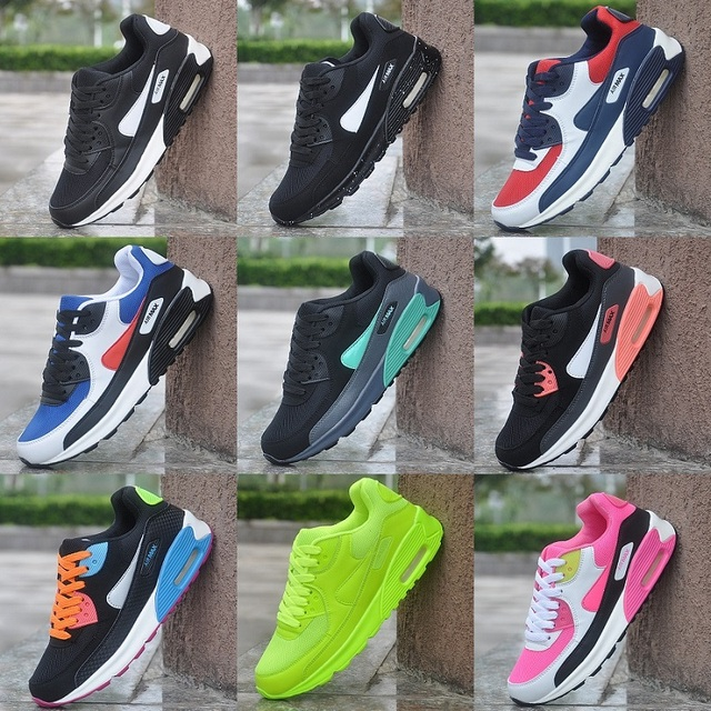 AIR 90 MAX MEN WOMEN'S SPORTS RUNNING SHOES SNEAKERS