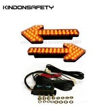 Светодиодный щит со стрелками, дорожный менеджер, Автомобильный светодиодный сигнальный светильник, сигнальный светильник для разбрызгивателей