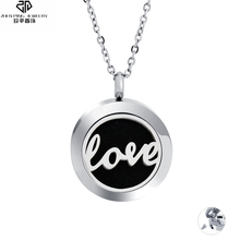 Love Heart Cross Aromatherapy Diffuser Cremation Urn Pendant Necklace Stainless Steel Essential Oil Diffuser Locket