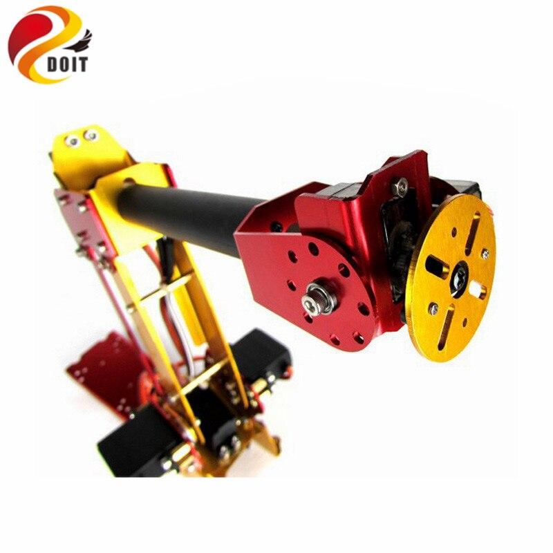Bras de Robot en métal à mécanisme parallèle de bureau alimenté 6DOF bras de Robot industriel PalletPack
