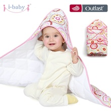 i-baby Swaddling Baby Blanket Bedding Newborn Crib Infant Wrap Sweet Times Sleepwear 100% Cotton Printed