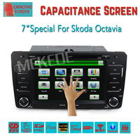 Capacitive Screen Two Din Car DVD Player For Skoda Octavia 2012 2013 A5 Yeti 3G Host