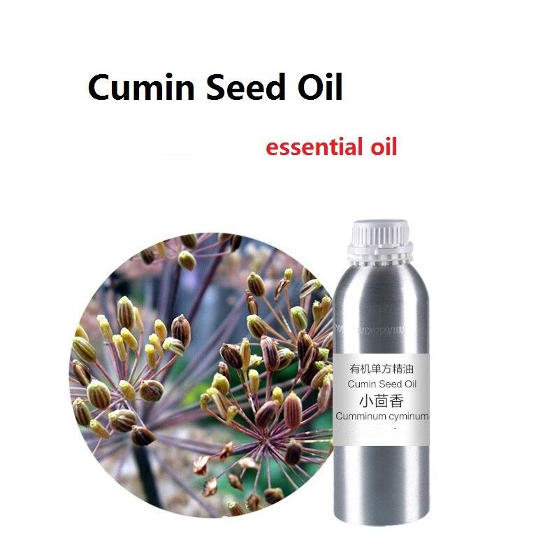 Cosmétiques huile de graines de Cumin huile de base essentielle, huile végétale pressée à froid biologique livraison gratuite soins de la peau