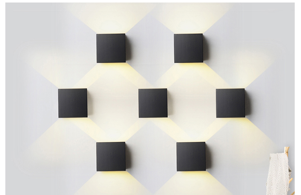 LED Diode Wall lampada  For Bedroom Living Room (9)
