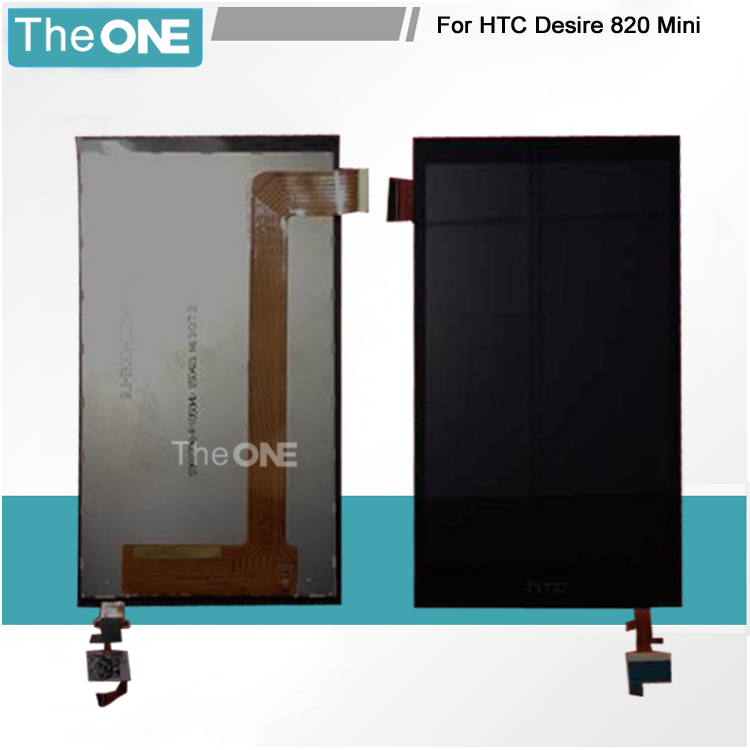 LCD screen display+touch panel digiziter For HTC Desire 820 Mini D820 mini black free shipping free shipping original rsag7 820 4555 roh power panel led32k01
