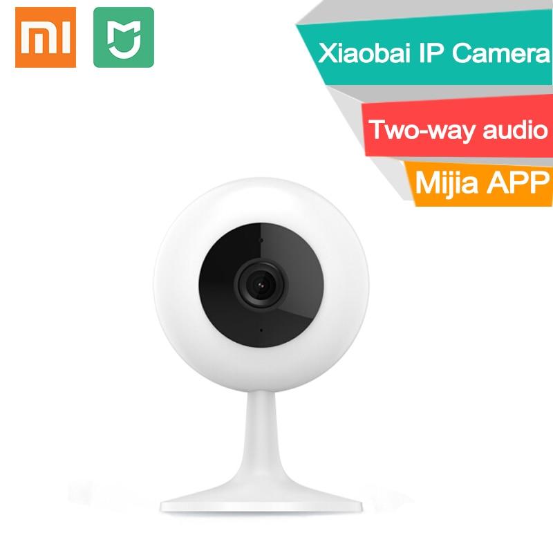 Unterhaltungselektronik 360°-video-kamera Hell Xiaomi Mijia Chuangmi Xiaobai Ip Kamera Wifi Sd Card Slot Zwei-wege Audio Smart Nachtsicht Protable Hd Baby Haustier Monitor Cctv