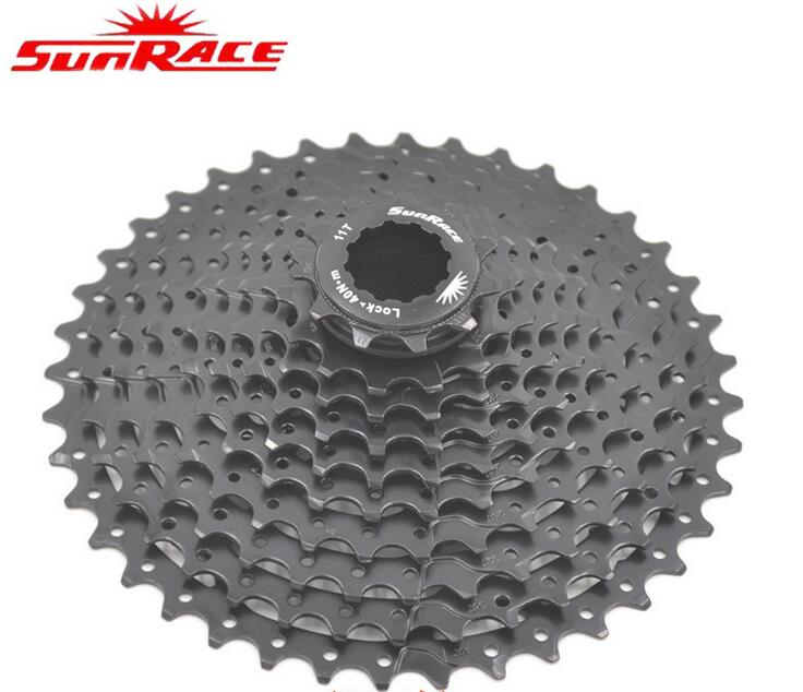 SunRace CSMS3 11-40T / 11-42T 10 Speed MTB Bike Cassette Freewheel Wide Ratio bicycle mtb freewheel Cassette 11-40T/11-42T CSMS3 image
