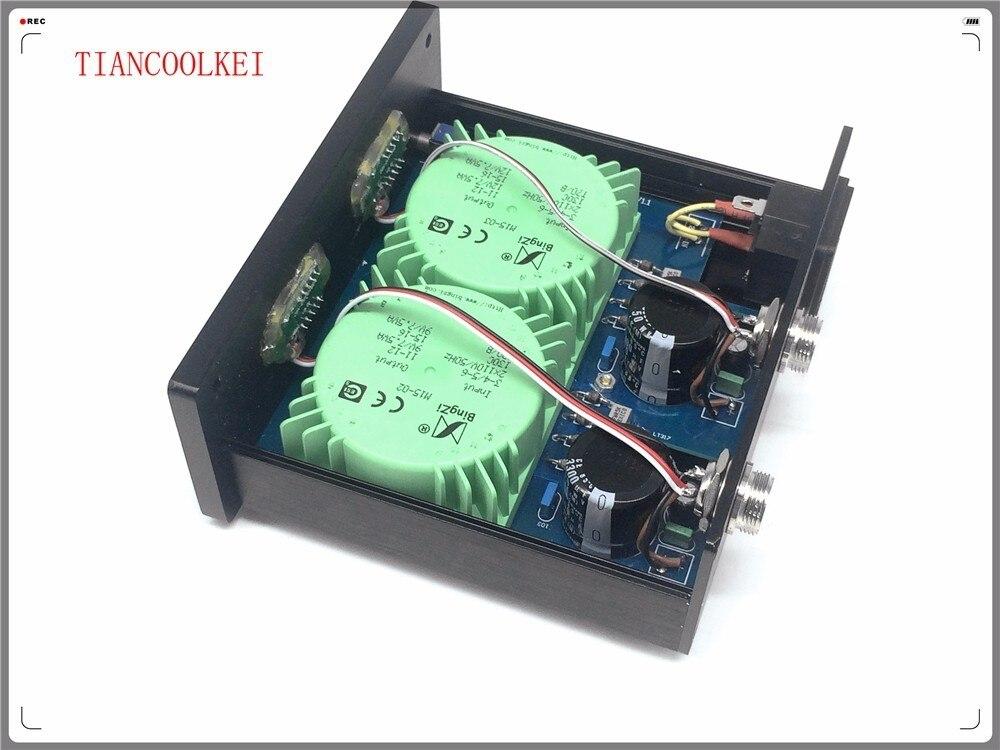 DAC X6 30W Dual External Linear Power Supply DC 5V 9V 12V 15V 24V for Headphone 6J1 tube preamplifier XMOS DAC 110V & 220V - 2