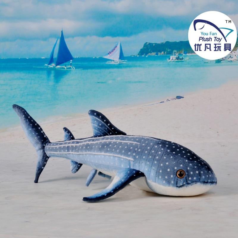 Whale Shark Toys : Vivid design cm stuffed whale shark toy plush animal