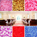 1000pcs/lot Wedding Decorations Fashion Artificial Flowers Polyester Wedding Rose Petals patal T267