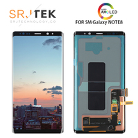 New 6.3 Original AMOLED LCD Display For SAMSUNG Galaxy NOTE8 LCD N9500 N9500F LCD Display Touch Screen Replacement Parts+Frame