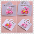 2pcs Per Set Mini Baby Hairpin Handmade Children Jewelry Hair Clip Side Clip Security Clip Set Factory Outlets Wholesale