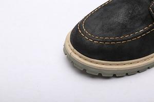 Image 5 - Chất lượng Dr Da Chính Hãng giày người đàn ông giày Martin khởi động Xe Máy giày giày Mùa Đông Mùa Thu Người Yêu tuyết Khởi Động