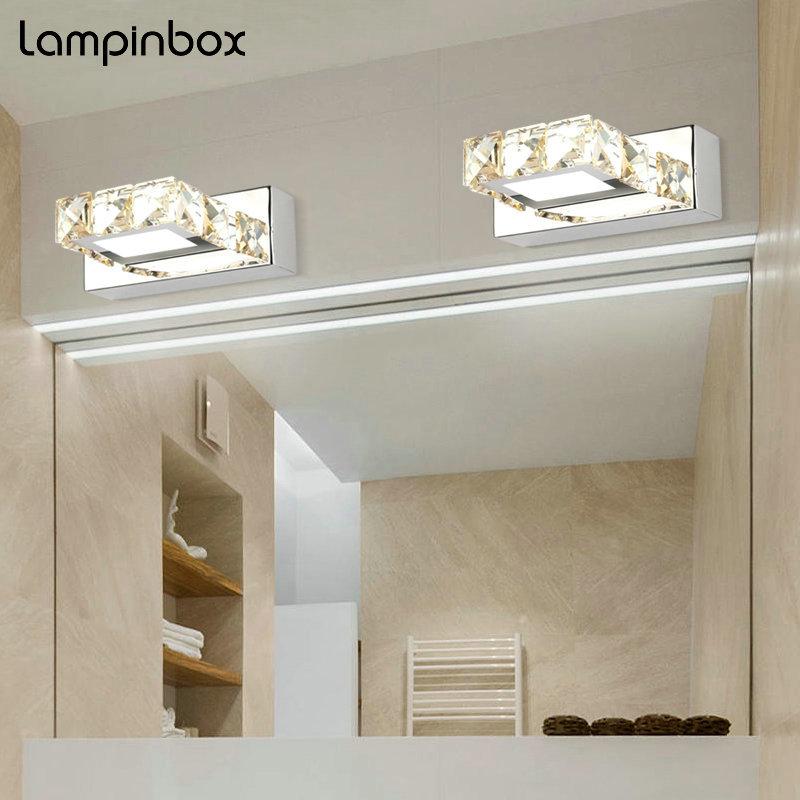 Wall Mounted LED Indoor Wall Lamp Modern Simple Bathroom ... on Wall Mounted Decorative Lights id=79013