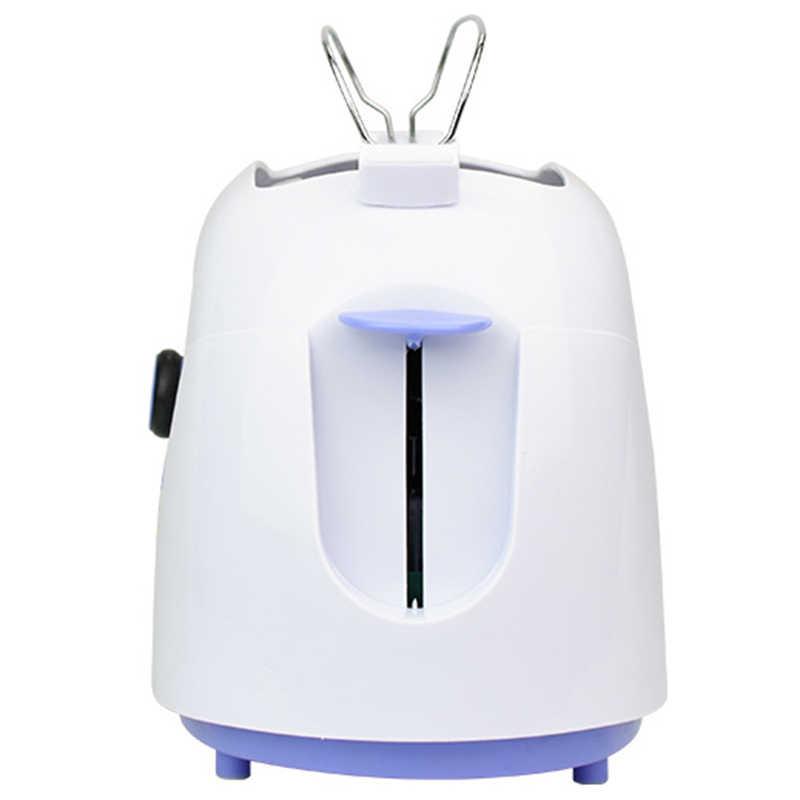 600W אוטומטי לחם טוסטר אפיית ארוחת בוקר מכונת Abs נירוסטה 2 פרוסת לחם מכונת האיחוד האירופי Plug