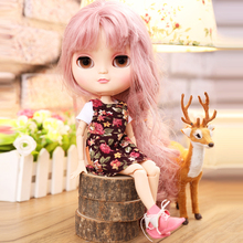 Bjd Icy Dolls Fashion Blyth Nude Mini Doll Body Can Be Changed Make Up and Dress 12 Inch Reborn Dolls Baby Toys for Girls Gift 3