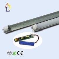 SMD2835 48leds AL PC T8 Emergency Tube Lighting Emergency Tube Lamp Emergency Tube Light 2ft 9W