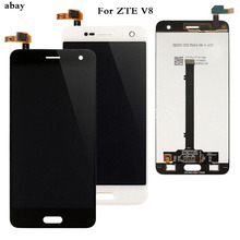100 Tested LCD For ZTE Blade V8 LCD Display Touch Screen Digitizer For ZTE Blade V8