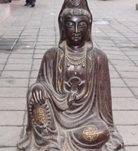 24 «Фиолетовый Бронзовый Золотой Свинка Серебро Кван-инь Гуаньинь Будда Шакьямуни Статуя