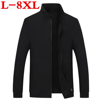 new Plus size 8XL 7XL 6XL 5XL 4XL Brand Jacket Men Clothes Trend College Slim Fit High-Quality Casual Mens Jackets And Coats