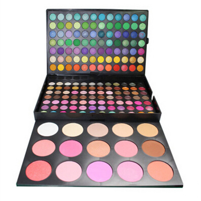 183 Color Professional Makeup Eyeshadow Set Matte Shimmer Eyeshadow Palette 15 Color Blush Make up Cosmetics Kit