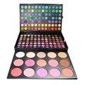 183 Cores Jogo Da Sombra Matte Shimmer Eyeshadow Palette de Maquiagem Profissional 15 Cores Blush Make up Kit de Cosméticos