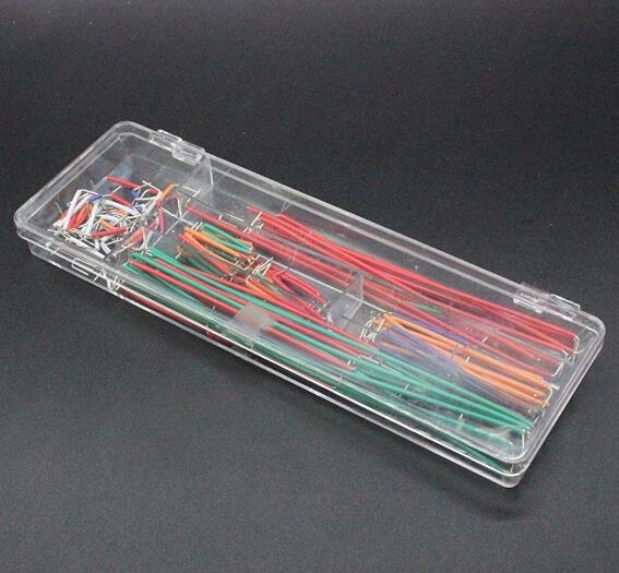 140 Pcs U Shape Solderless Breadboard Jumper Cable Wire Kit For  Shield For Raspberry Pi