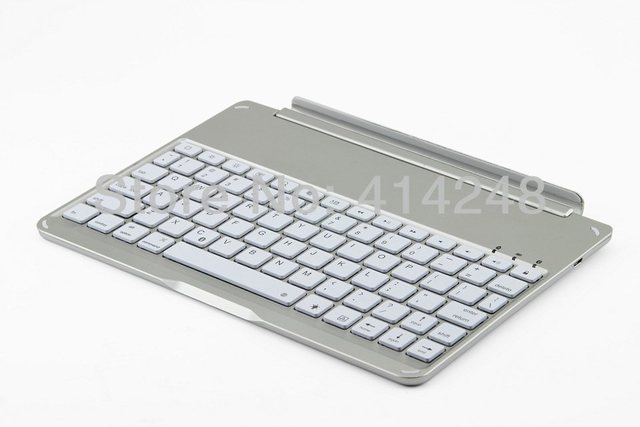 Magnetic Slot design bluetooth Keyboard for Ipad Air with backlit without case