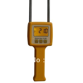 TK100S Corn,wheat,rice,bean,wheat flour tester 4 Digital LCD Grain moisture meter range:5-35% hygrometer mc 7806 digital moisture analyzer price with pin type cotton paper building tobacco moisture meter