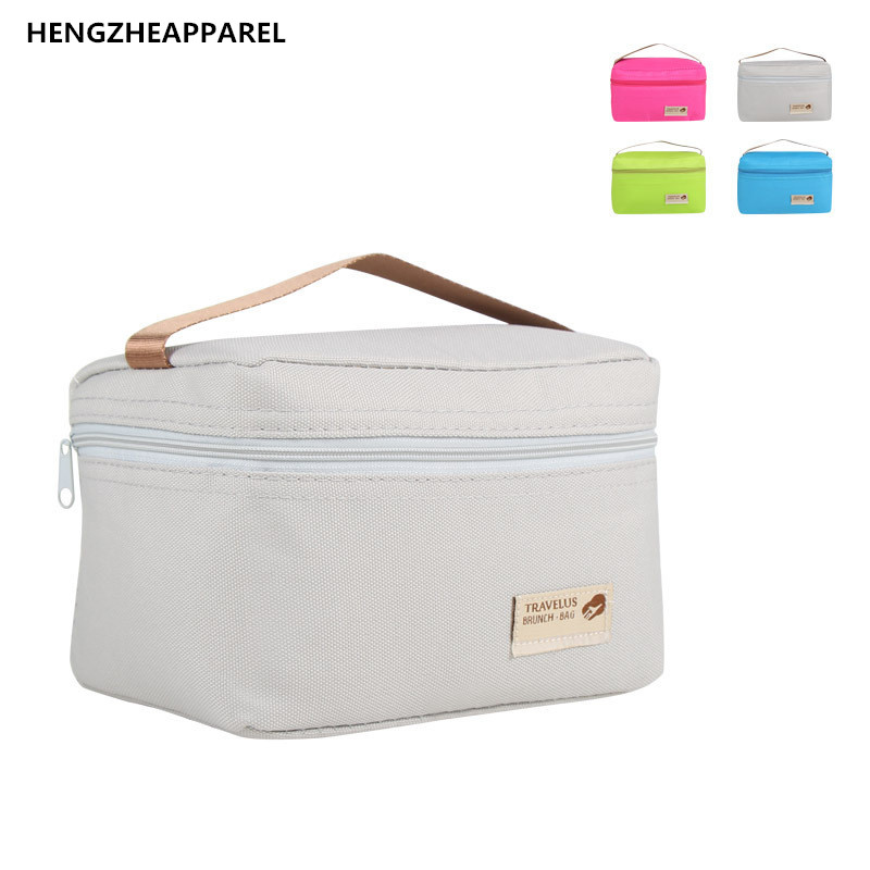 d22d6f937450 US $1.35 15% OFF|Cute Lunch Bag Waterproof Bag Portable Thermal Insulated  Women Men Lunch Box Cooler Picnic Tote Storage Bag Pouch Lunchbags-in Lunch  ...