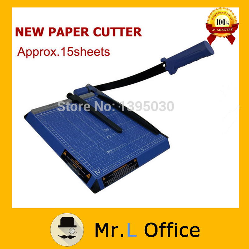 New 18*15 15 Sheets Paper Trimmer Manual A3 Paper Cutter 2017 new manual rotary paper cutter trimmer 310mm 20sheets paper cutting and perforating double function new design