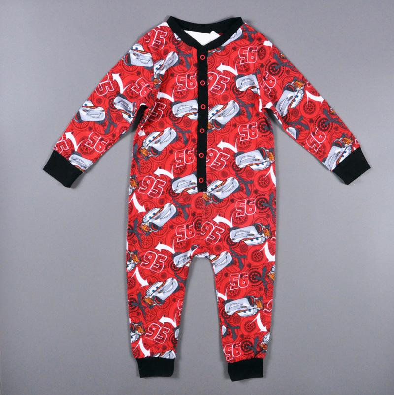 2017 baby boys 3-6 years romper car printing spring autumn style Long sleeves baby boys clothes red brand vetement enfant garcon