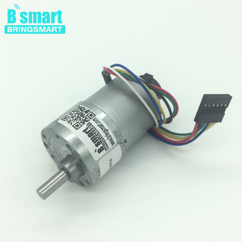 Jgb37 3530b 12v Hall Sensor Gear Encoder Motor 6 1600rpm