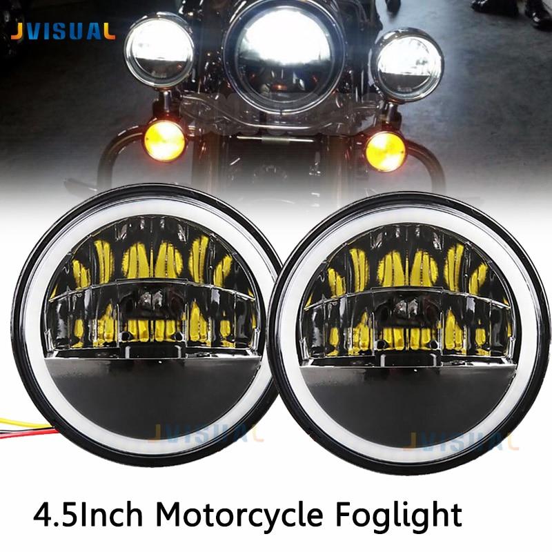 Universal 4.5 inch LED Fog Light Bulb 30W led Motorcycle 4.5 fog lamp Pair For Harley Davi MotorbikeUniversal 4.5 inch LED Fog Light Bulb 30W led Motorcycle 4.5 fog lamp Pair For Harley Davi Motorbike