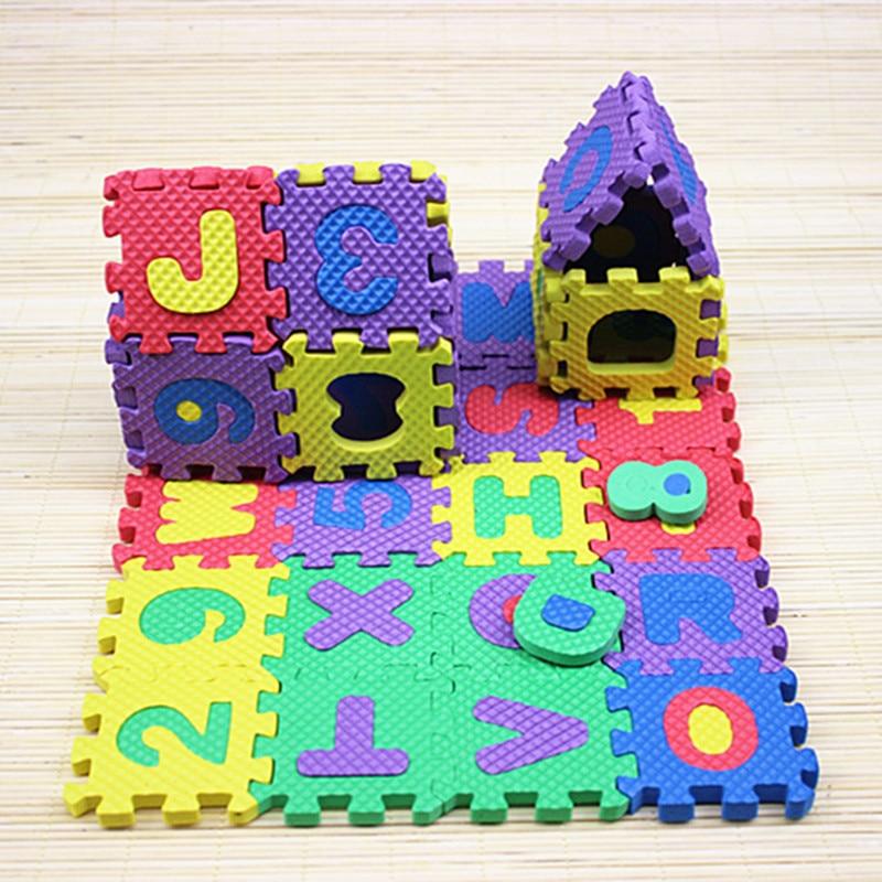 36pcs/Set Kids Rug Play Mat Soft Floor Alphabet Letters