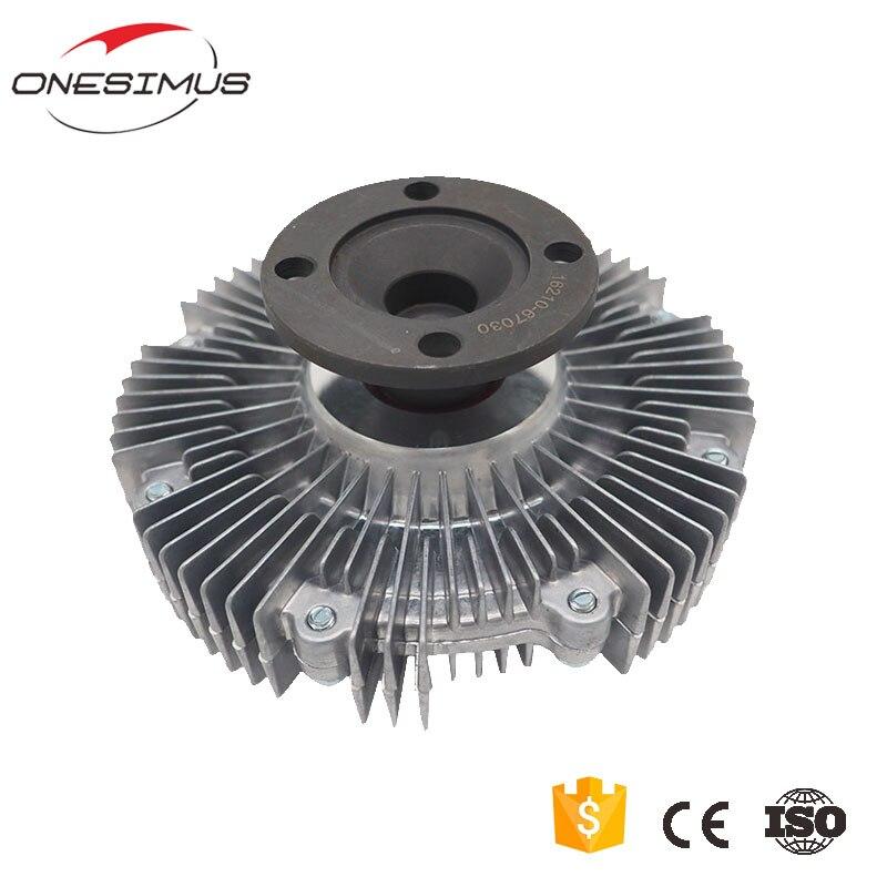 Вентилятор радиатора сцепления OEM 16210-67030 (система охлаждения), 1 шт., для детской модели 1KZ-T 2KD 2KD-FTV RS094 LAND CRUISER/4 runner/HILUX II Picku
